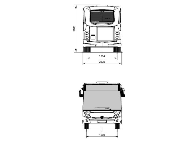 les autobus heuliez gx 127 du reseau mistral de toulon