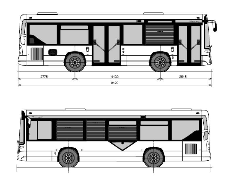 Les autobus heuliez gx 127 du reseau mistral de toulon - Dessiner un bus ...