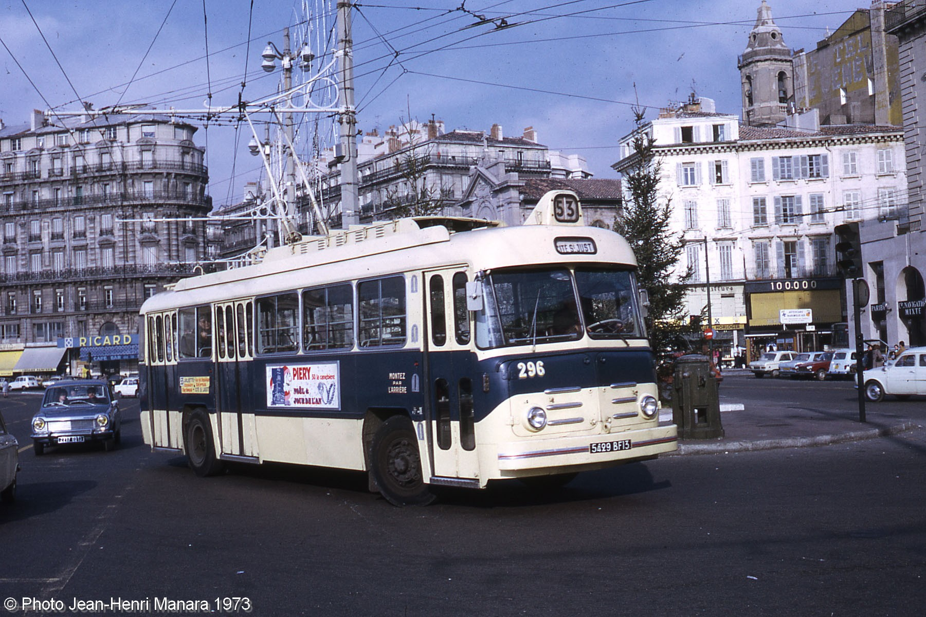 Les trolleybus de marseille for Bus salon de provence aix en provence