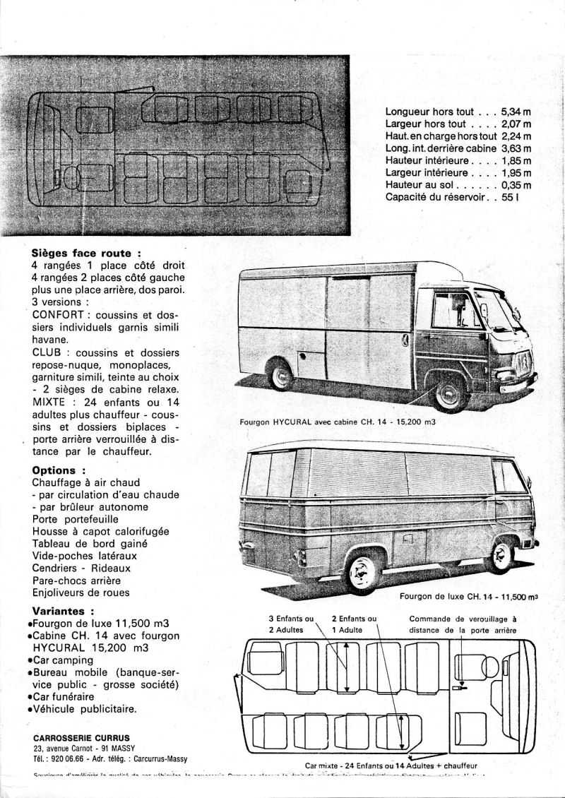 citroen ch 14 carrosserie currus