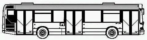 Heuliez gx 217 reseau mistral toulon - Dessiner un bus ...