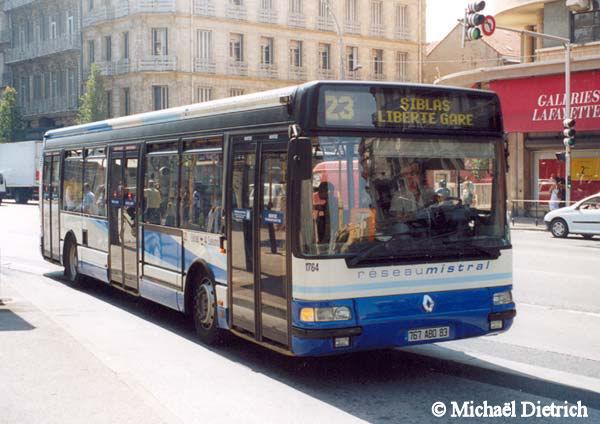 Heuliez GX 317 -Reseau Mistral -Toulon