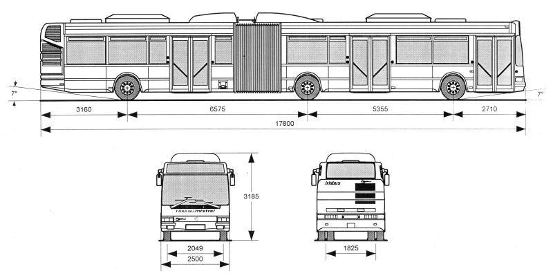 Irisbus agora l 1ere partie reseau mistral toulon for Agora mobiliario s l