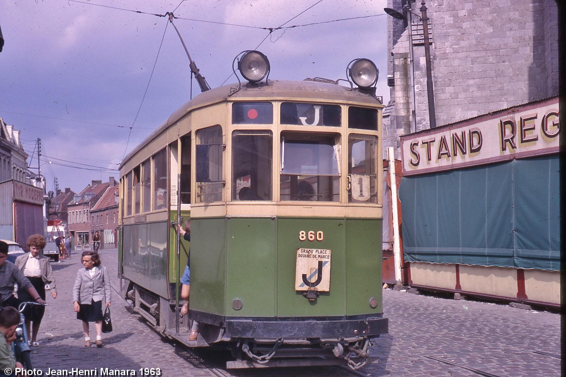 les tramways en couleurs de lille